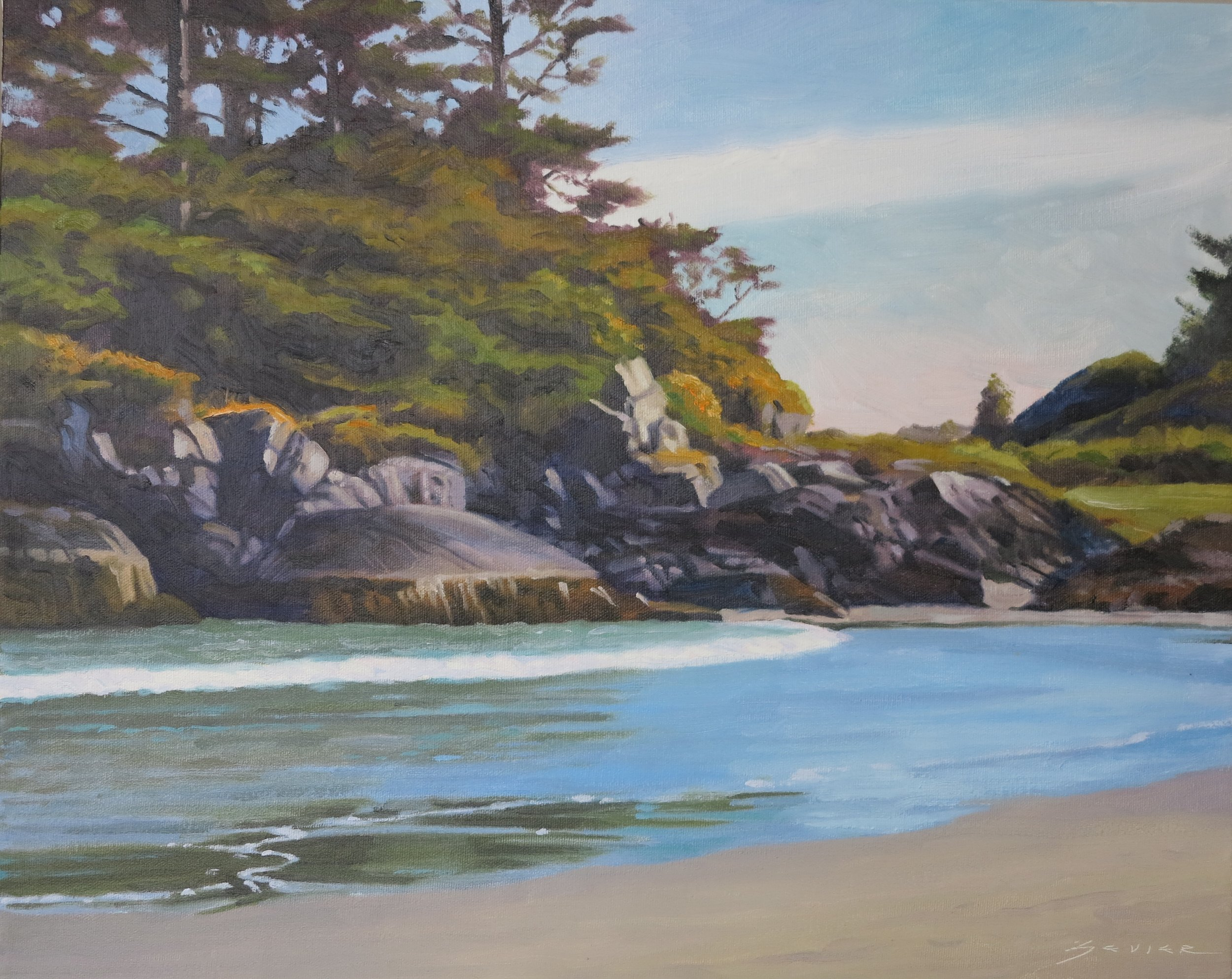 Summer Day Long Beach/Vancouver Is.16 x 20,