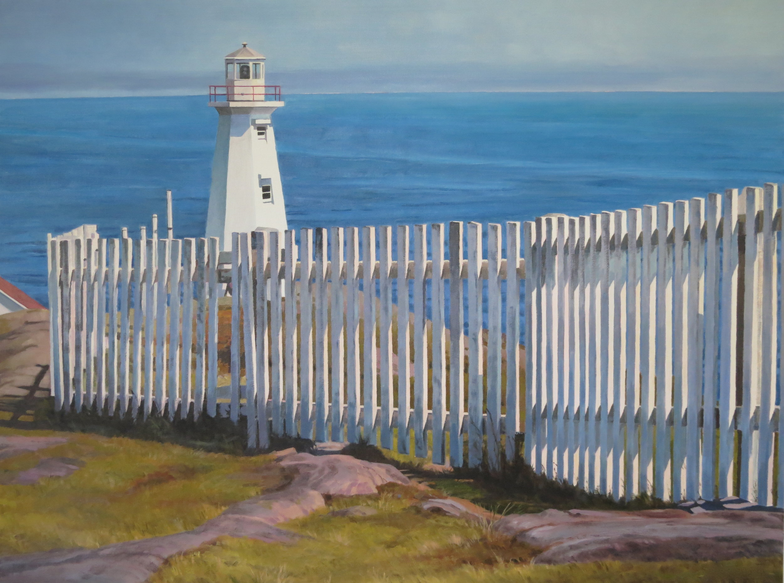 Cape Spear/New Lighthouse, NFL, 30 x 40, oil