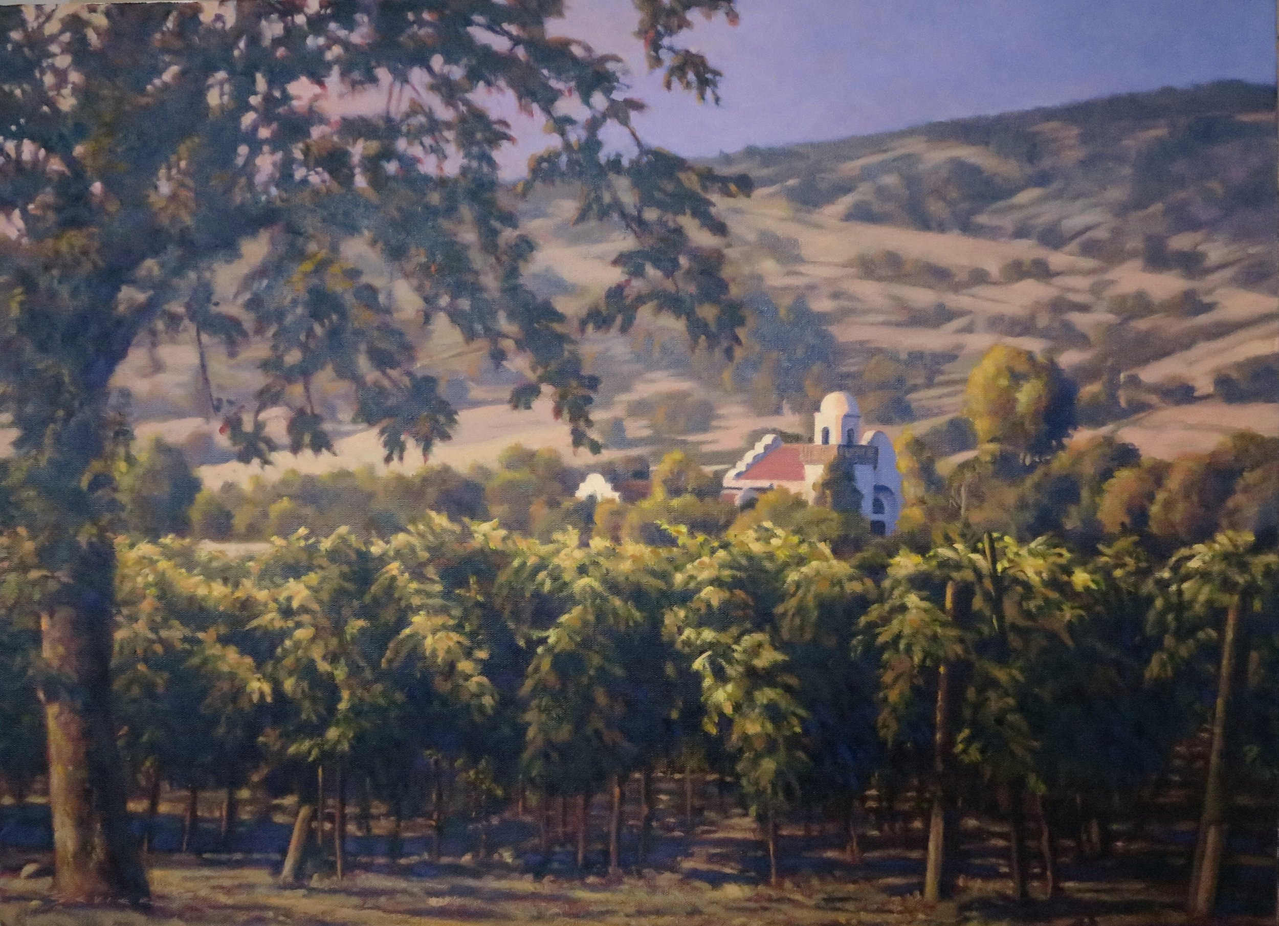 Groth/Napa, 22 x 30, oil