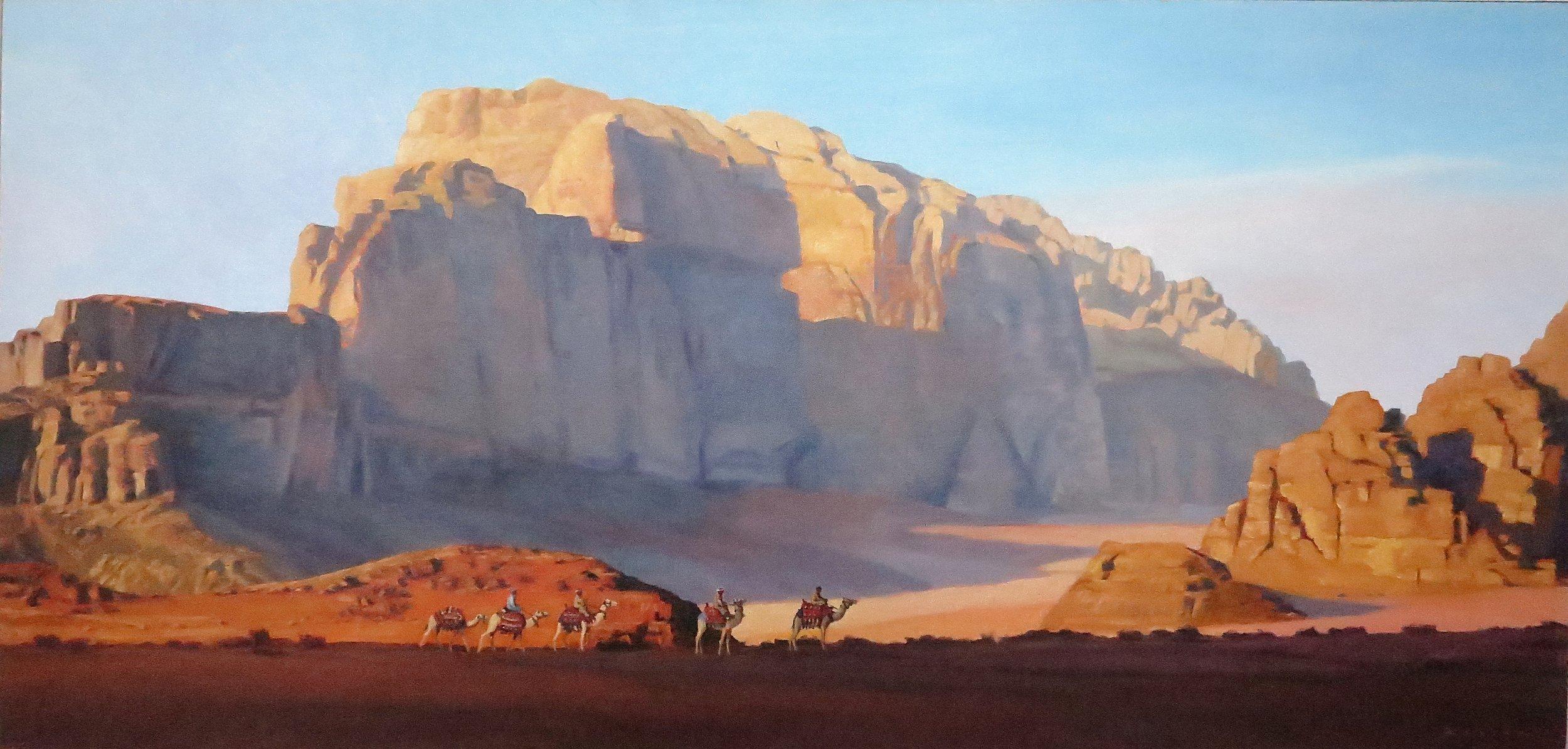 Wadi Rum 2/Jordan, 23 x 43, oil