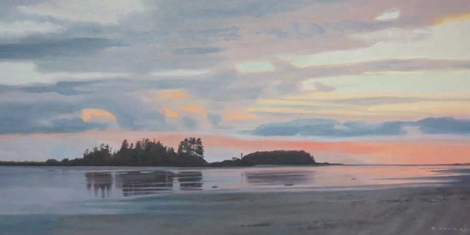 Chesterman Beach/Vancouver Island, 20 x 30, oil