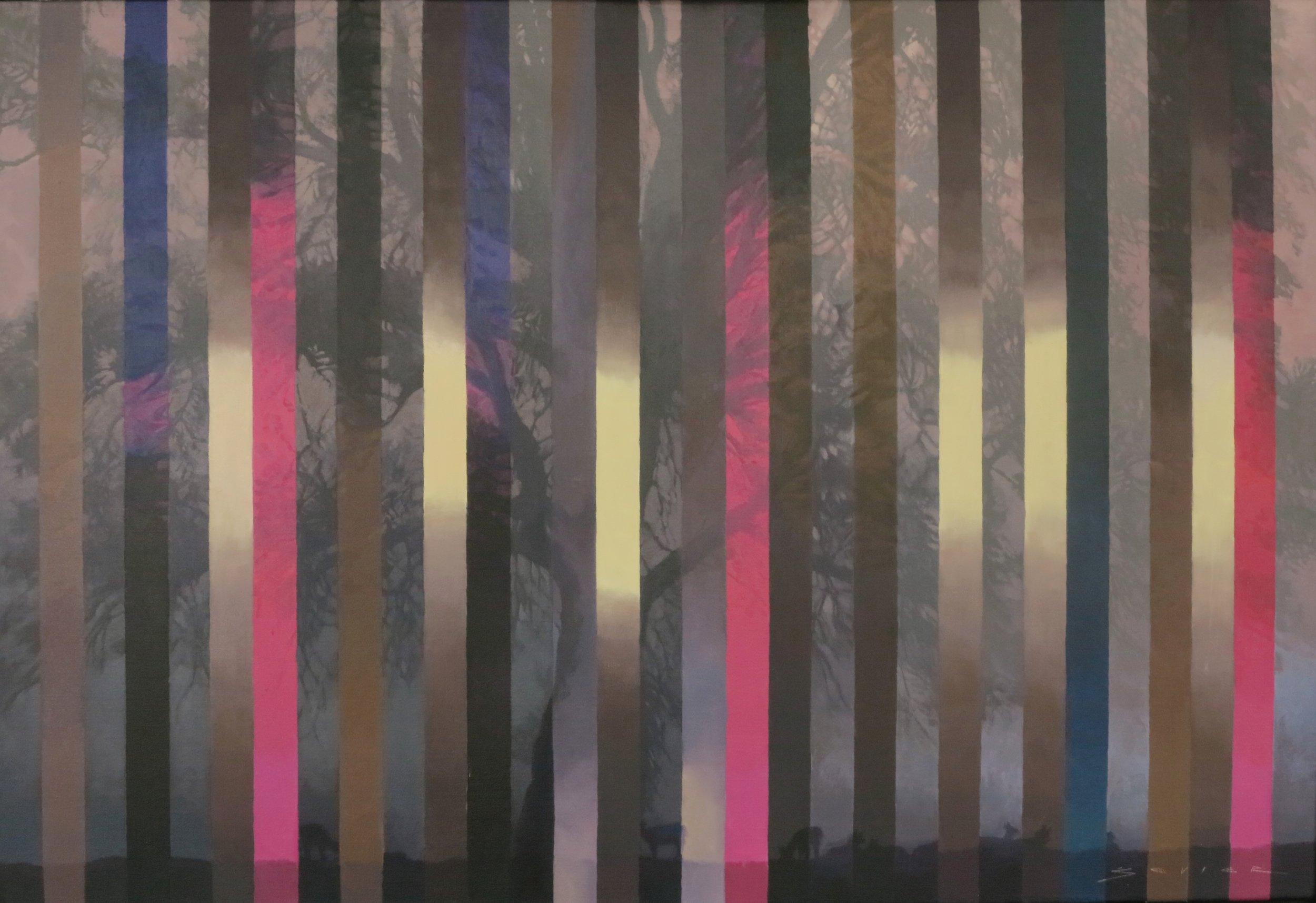 Royal Oak, 26 x 38, oil