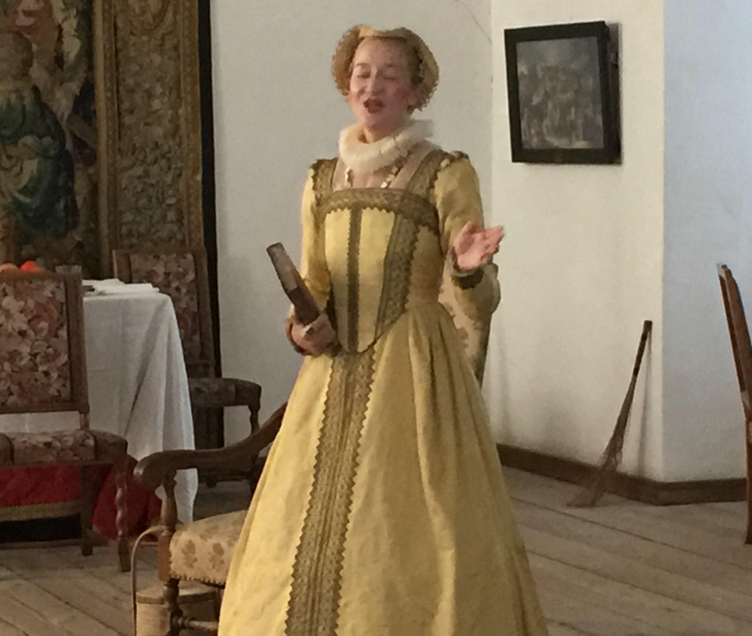 Hamlet's mother at Elsinore Castle