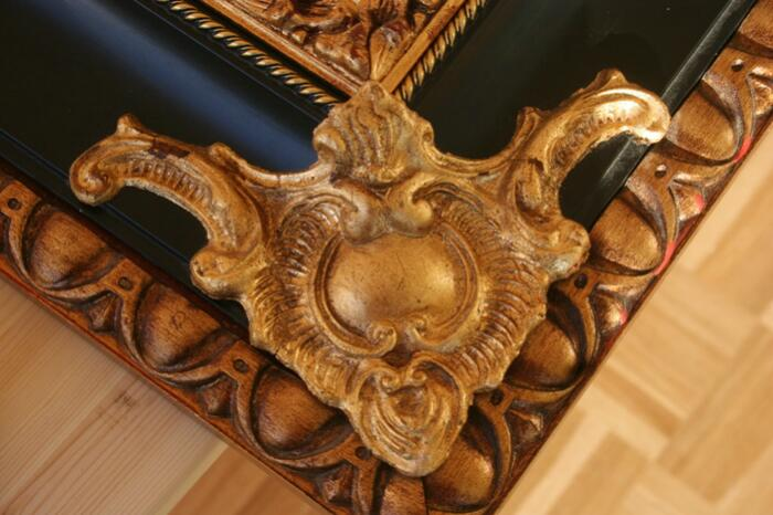 Carving frames and reliefs