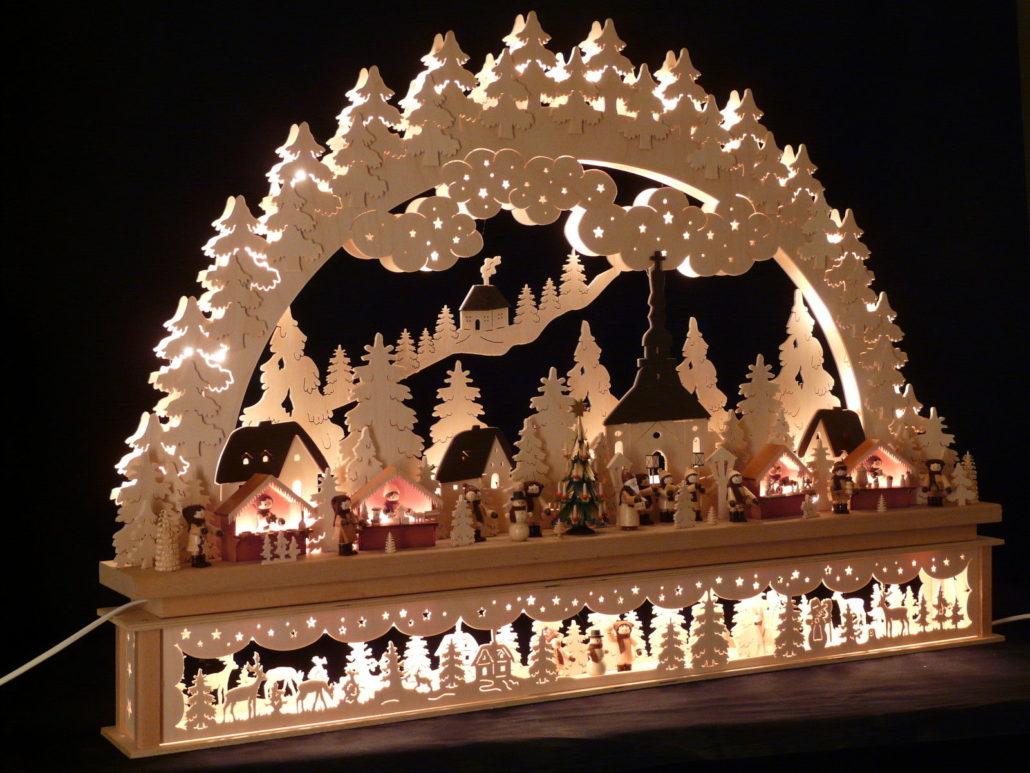 Making holiday decorations
