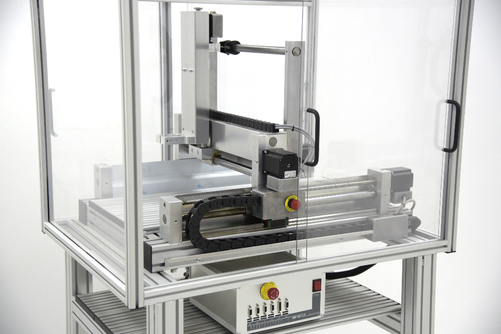 CNC machine enclosures and tables