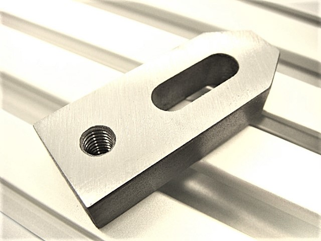 CNC steel pinch clamps for t-slot table