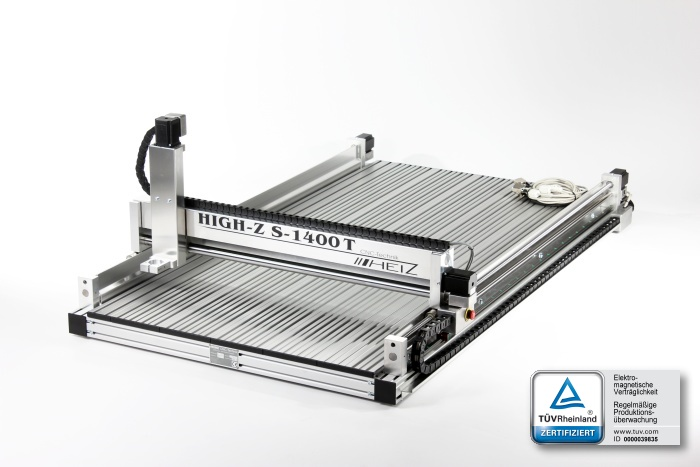High-Z 1400T powerful CNC machine with HiWin profiled guide rails