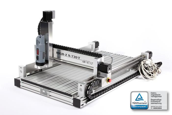 Bestselling High-Z 720T CNC machine