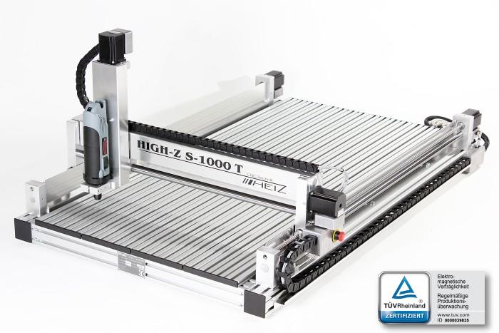 Fast and precise CNC machine High-Z 1000T