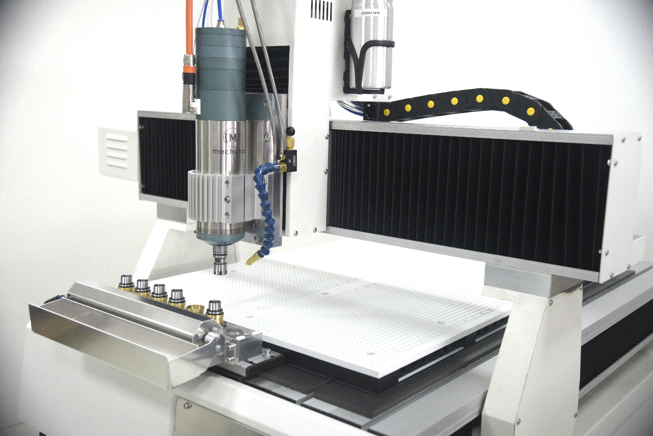 Powerful CNC T-Rex 0609 with 2.2kW ATC from Mechatron