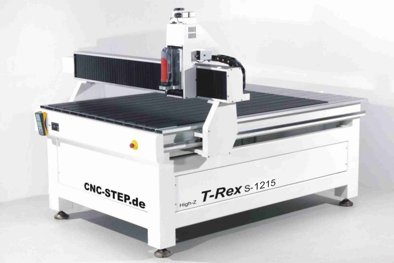 Powerful T-Rex CNC steel frame router milling machine