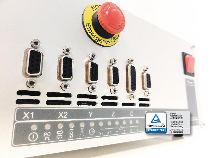 Zero3 5-channel CNC controller