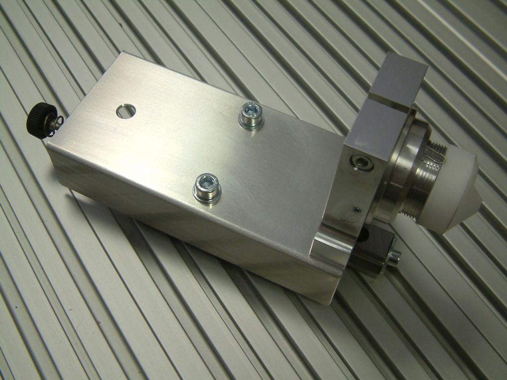 CNC engraving depth controller