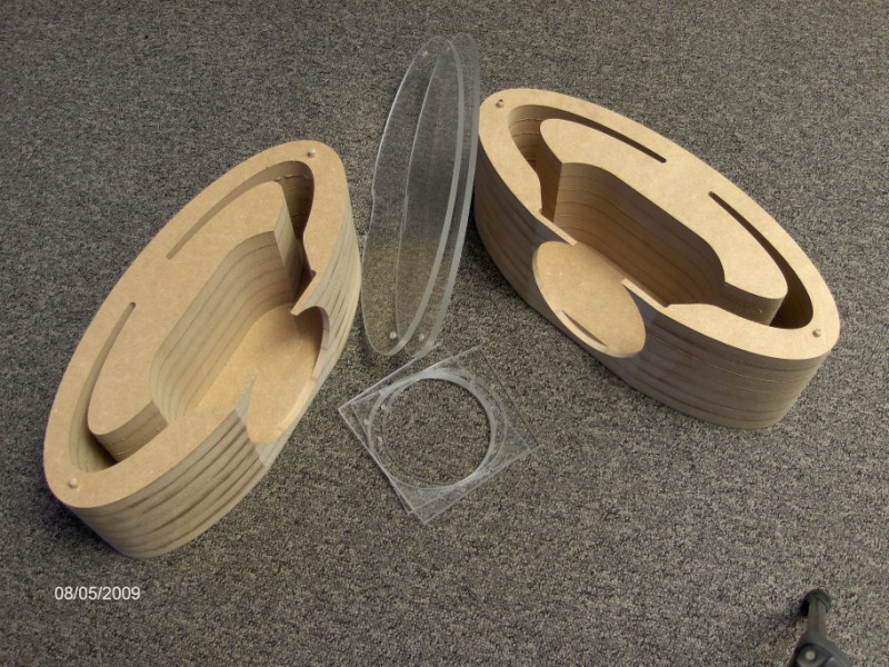 Wood working CNC machine MDF routing example