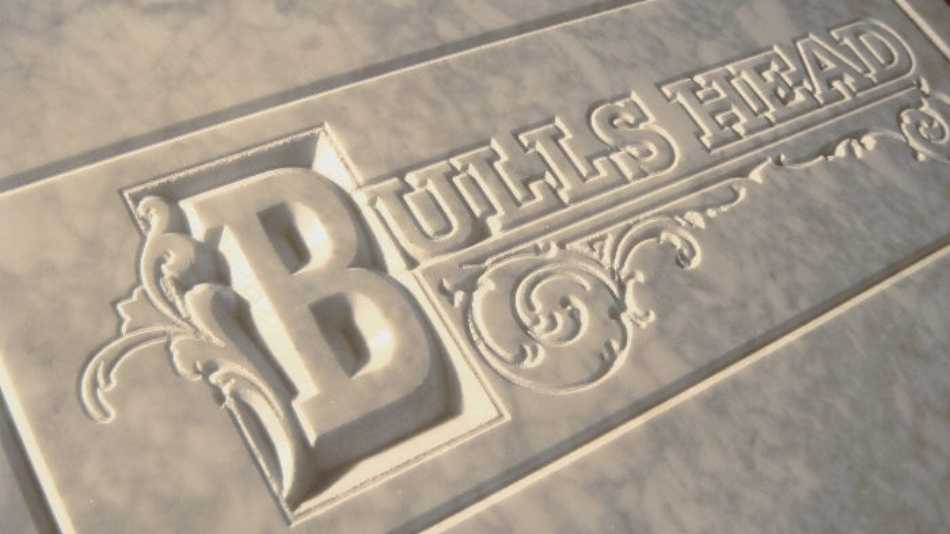 Carving marble with a CNC machine from CNC-STEP