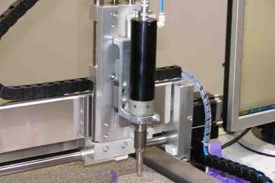 Ultrasonic welding of plastic with a High-Z CNC machine