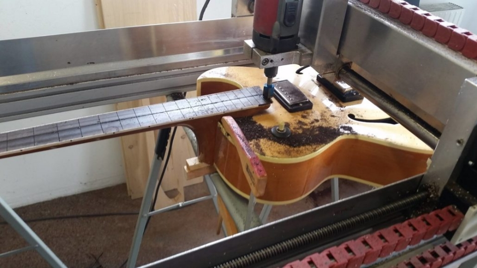 Making guitars with a High-Z CNC machine
