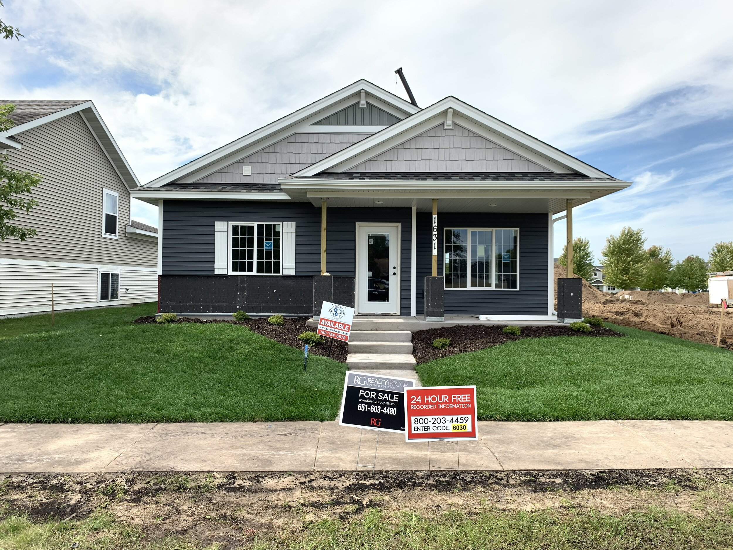 1631 Elm St. SCambridge, MN - The Willow (Alley) by Semler Construction2BR/1BA-1154 FSFOne LevelUnder ConstructionAvailable for Purchase