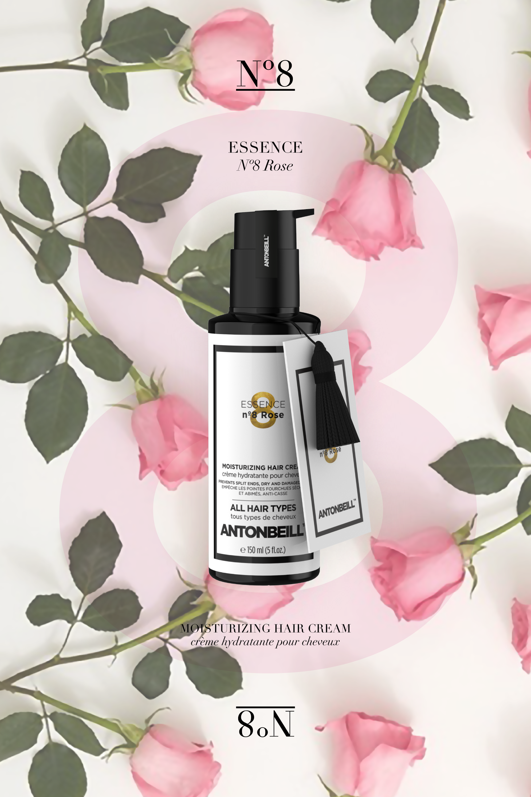 Essence nº8 rose - Protecting, Nourishing & Moisturizing Effect