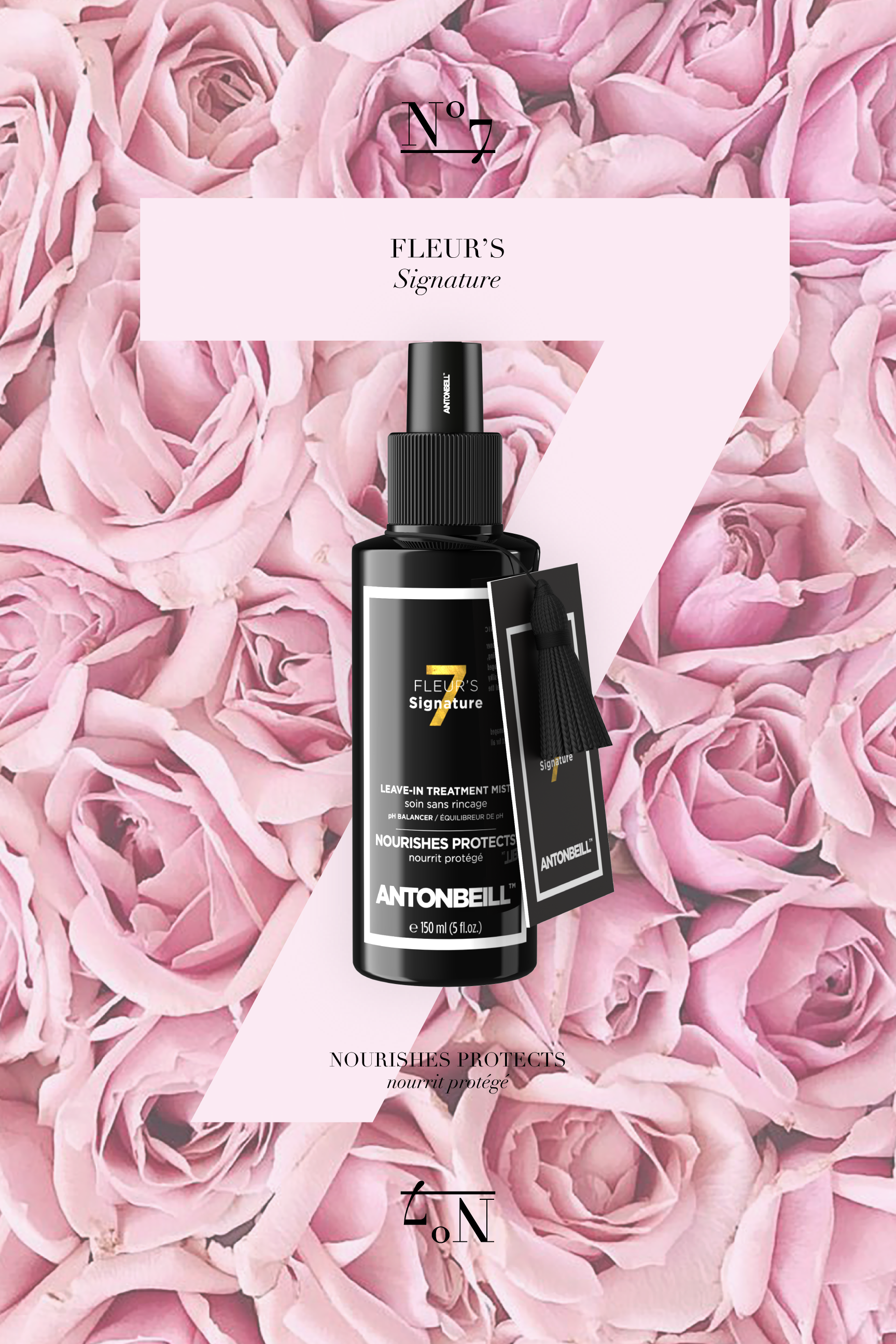 Nº7 Fleur's Signature - pH Balancer Treatment Mist
