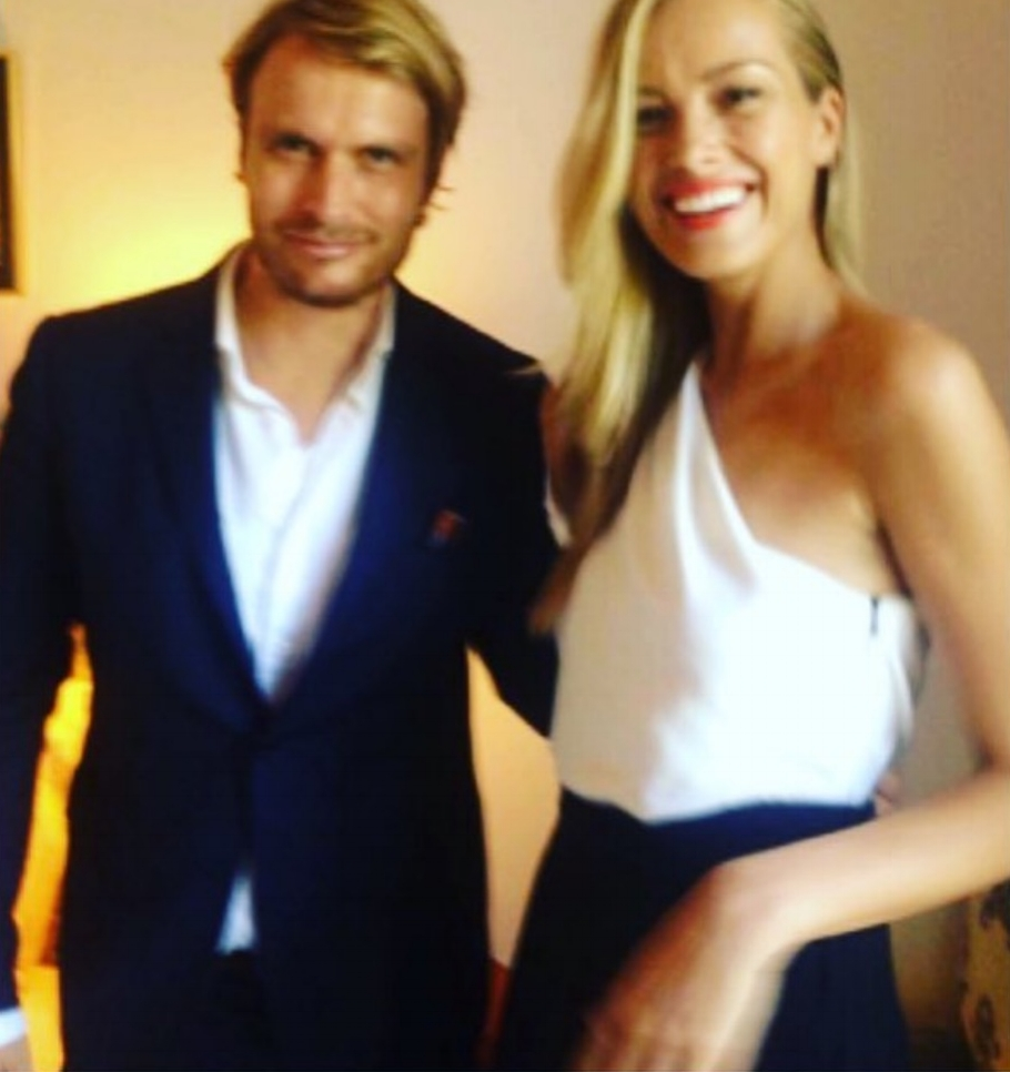 Anton Beill with Petra Nemcova,we look forward to welcoming you on your next visit.