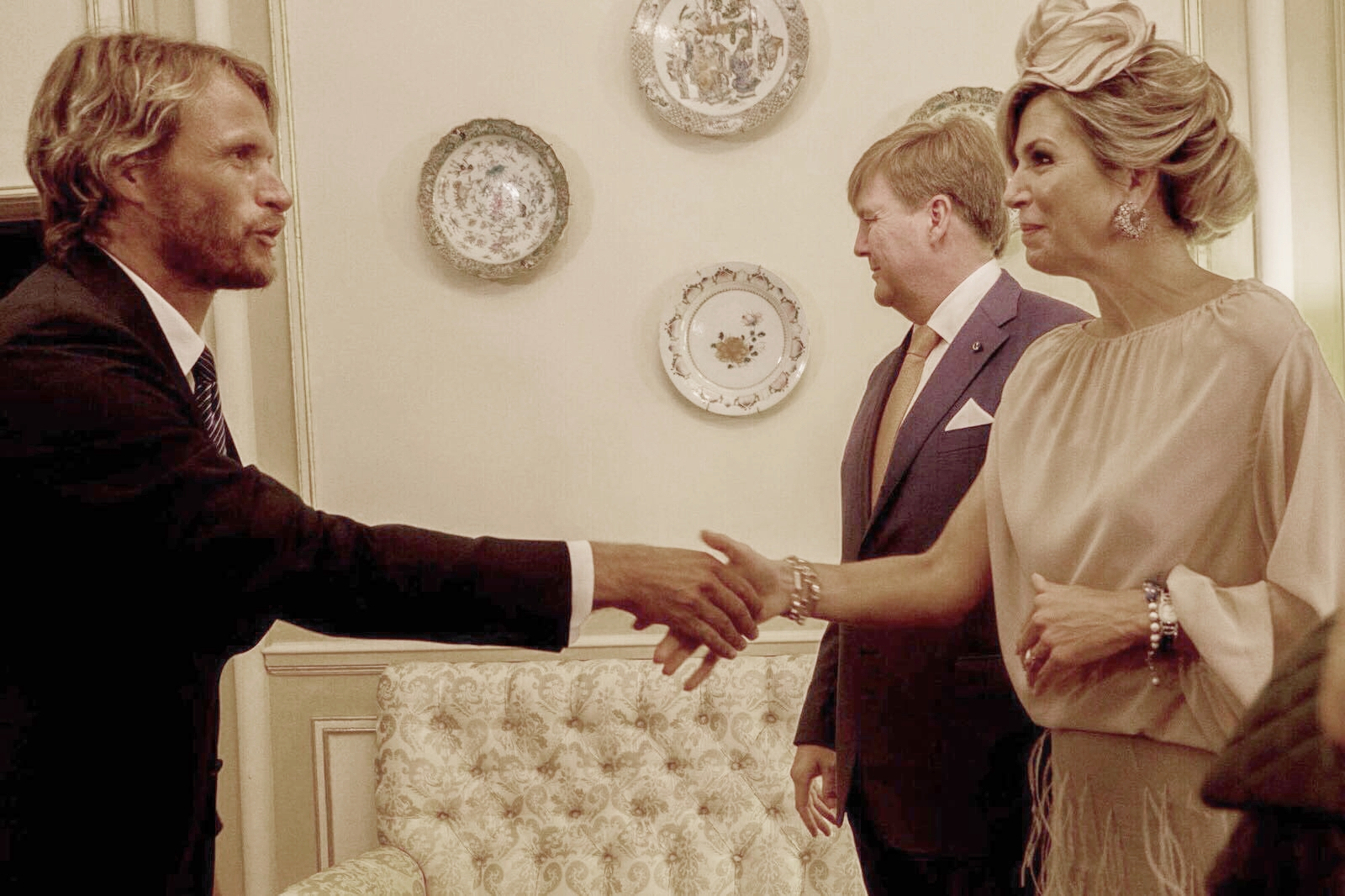 Anton Beill received a personal invitation to meet up with the Dutch Royal family our Queen Máxima and our King Willem Alexander.