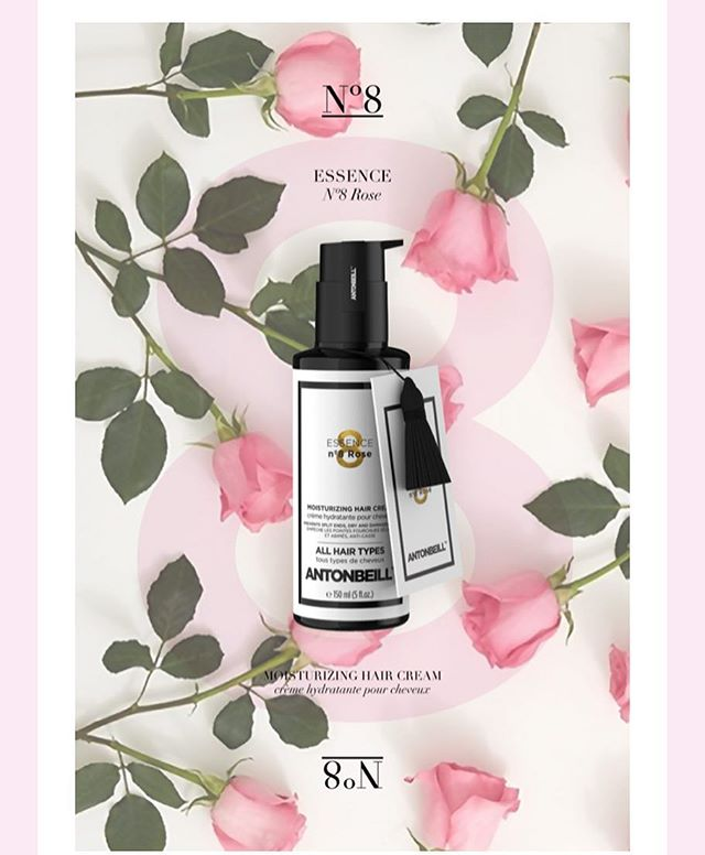 ESSENCE Nº8 ROSE Protecting, Nourishing & Moisturizing Effect#antonbeill #antonbeillhaircare