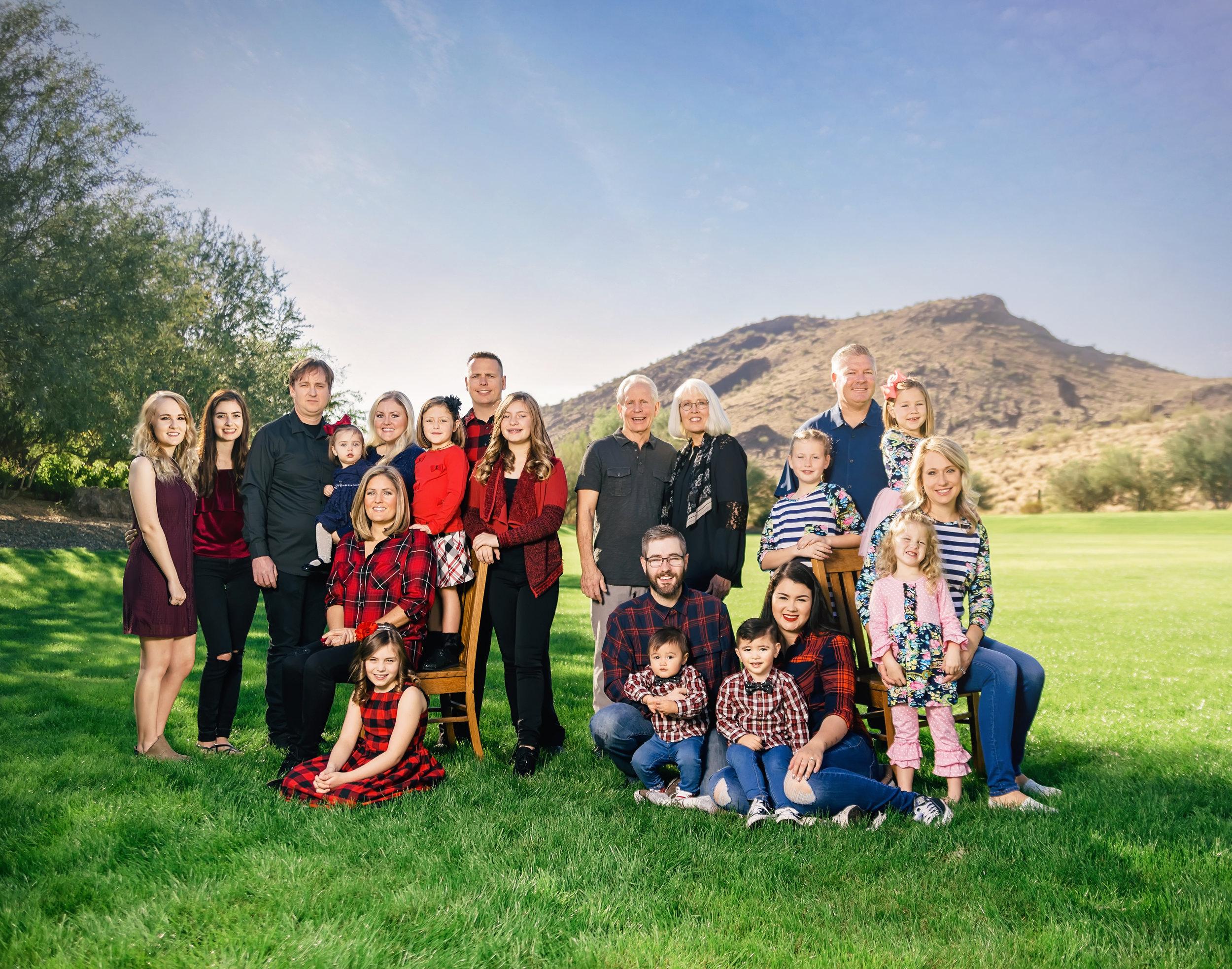 Peoria Glendale Arizona Family pictures Phoenix Photographer Anjeanette Photography Stetson Hills Az