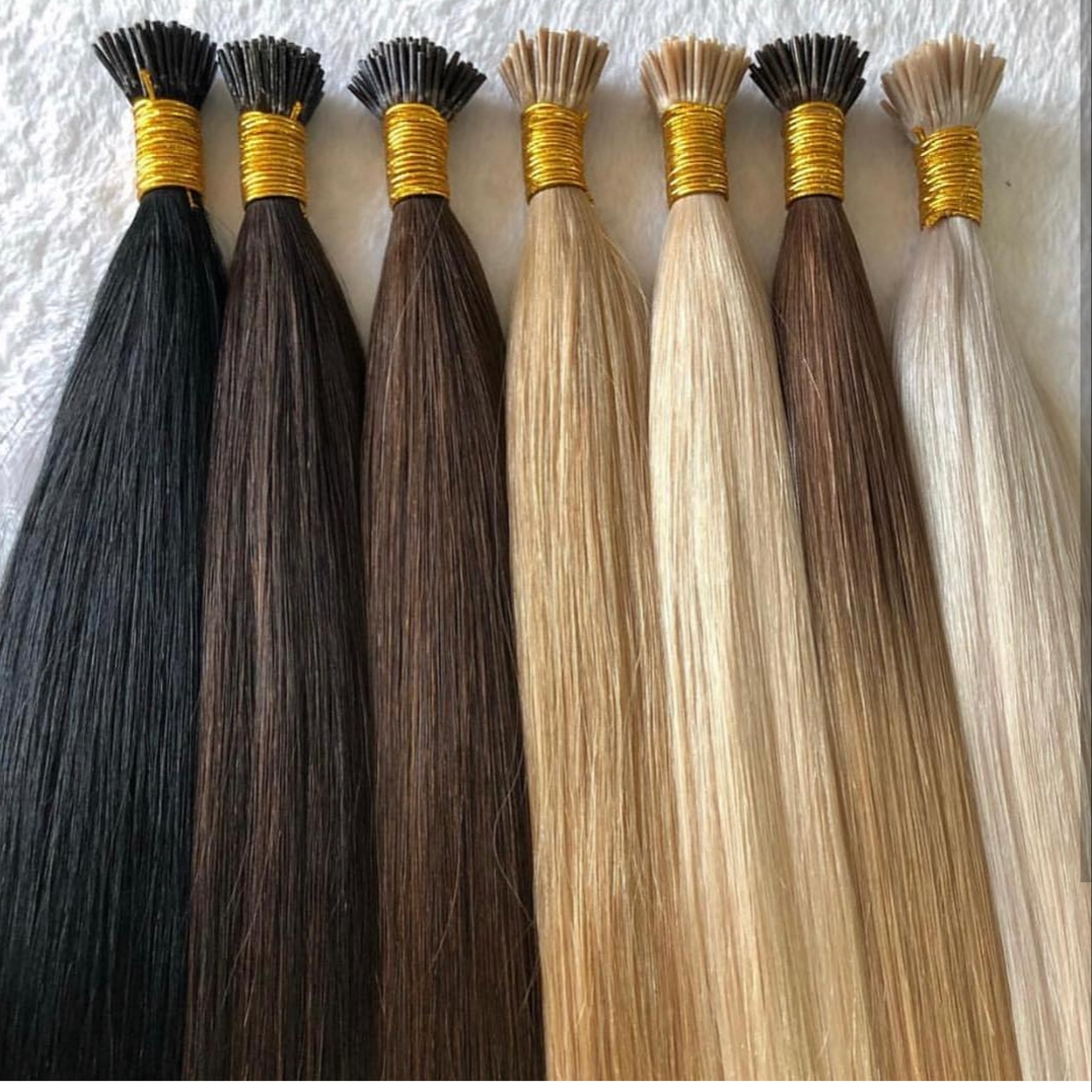 Image result for I tip hair extensions