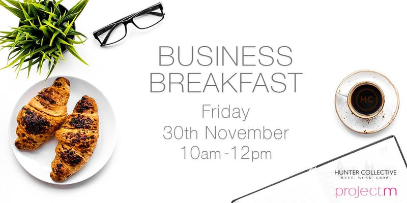 Business Breakfast - Friday 30th NovemberThe Business Breakfast brings creative entrepreneurs and freelancers together to network, share experiences and chill. If you work in beauty, fashion, design, marketing etc. come join us to enjoy honest conversations and some real morning pick me ups!