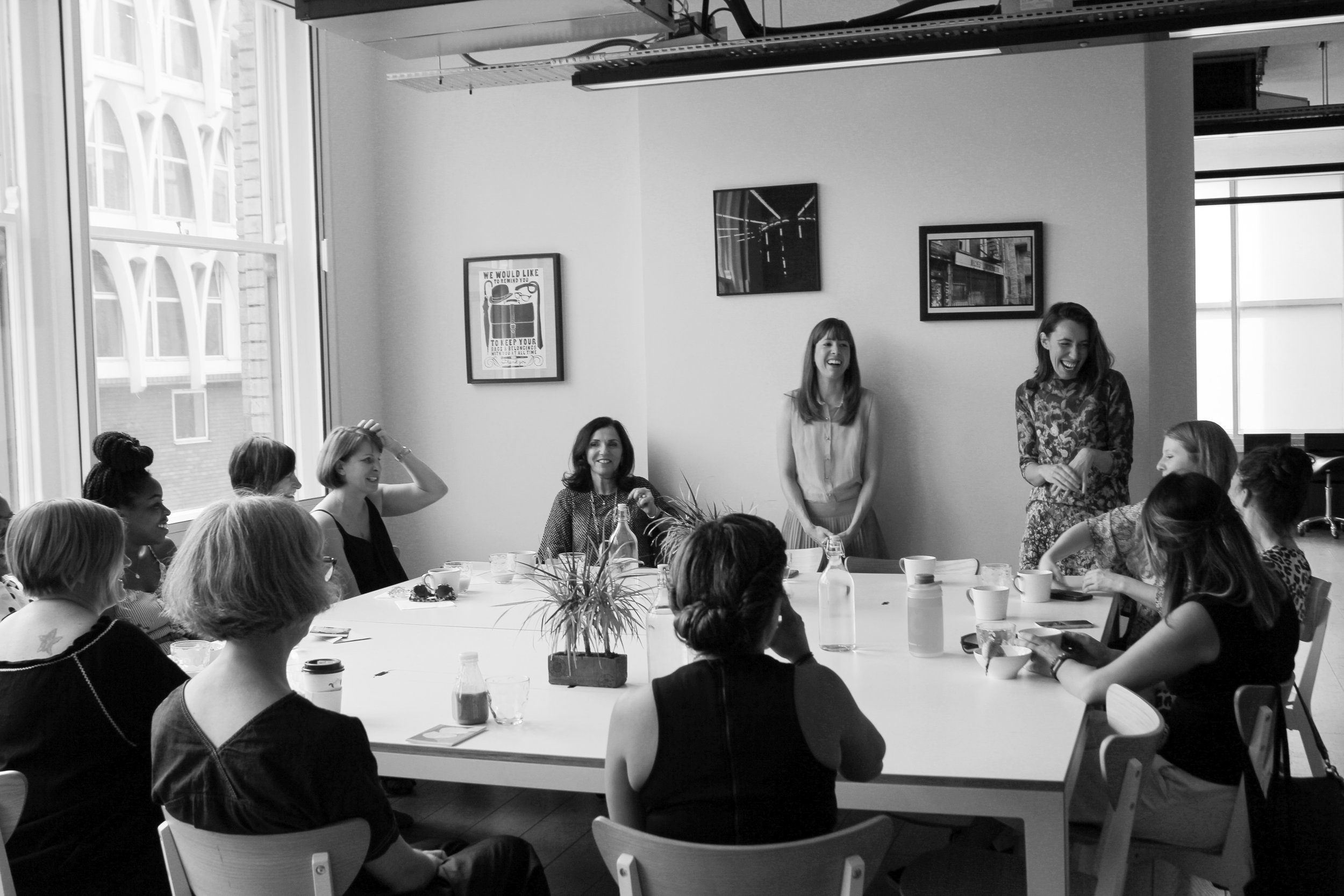 BUSINESS BREAKFAST - We had great success with bringing together creative entrepreneurs and freelancers to network, share experiences and chill.
