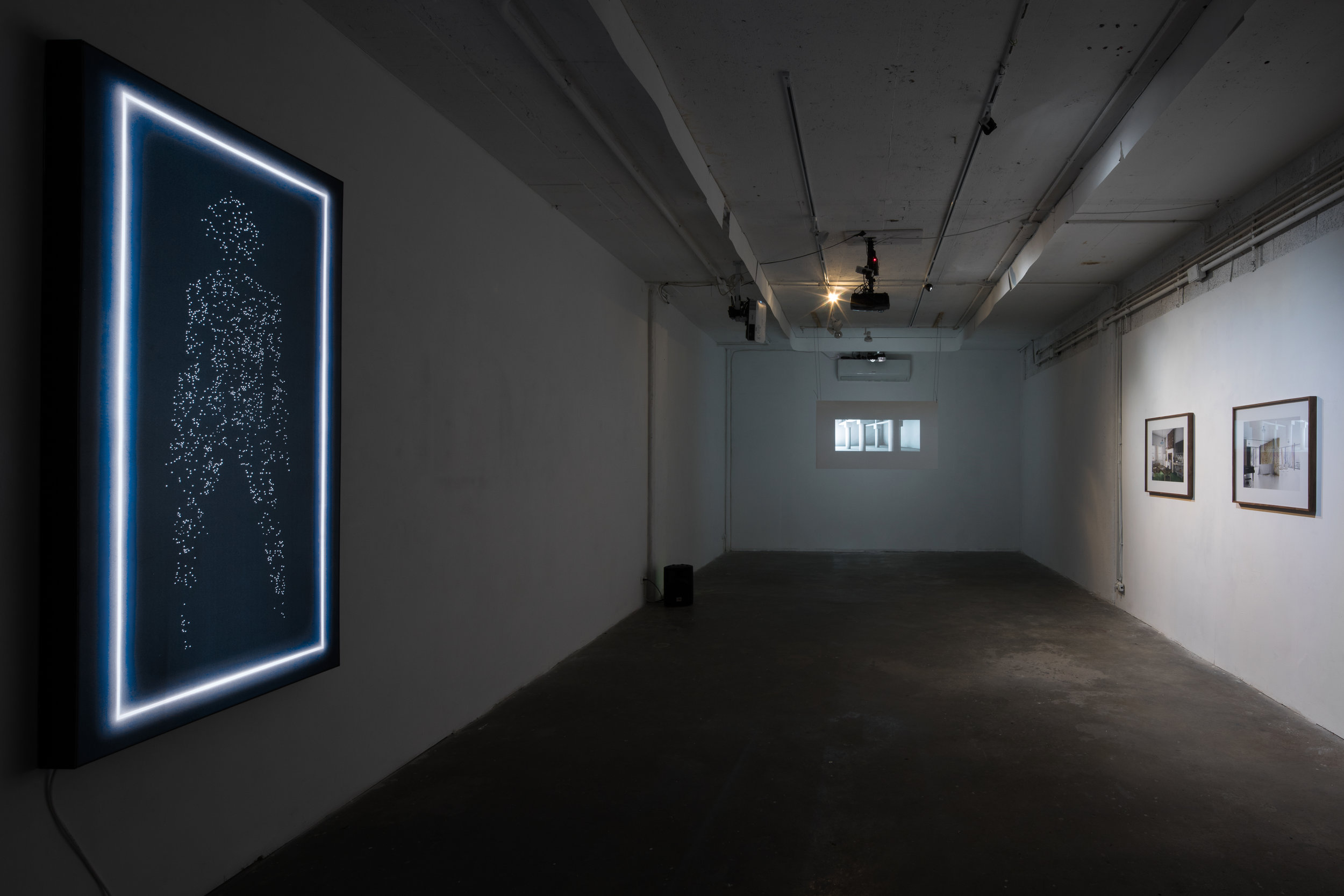 Installation view - INDIE- photography group gallery 2017