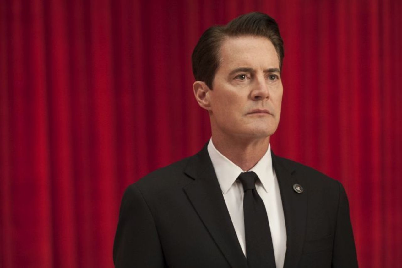 Special Agent Dale Cooper, whose tastebuds have changed drastically since 1991.