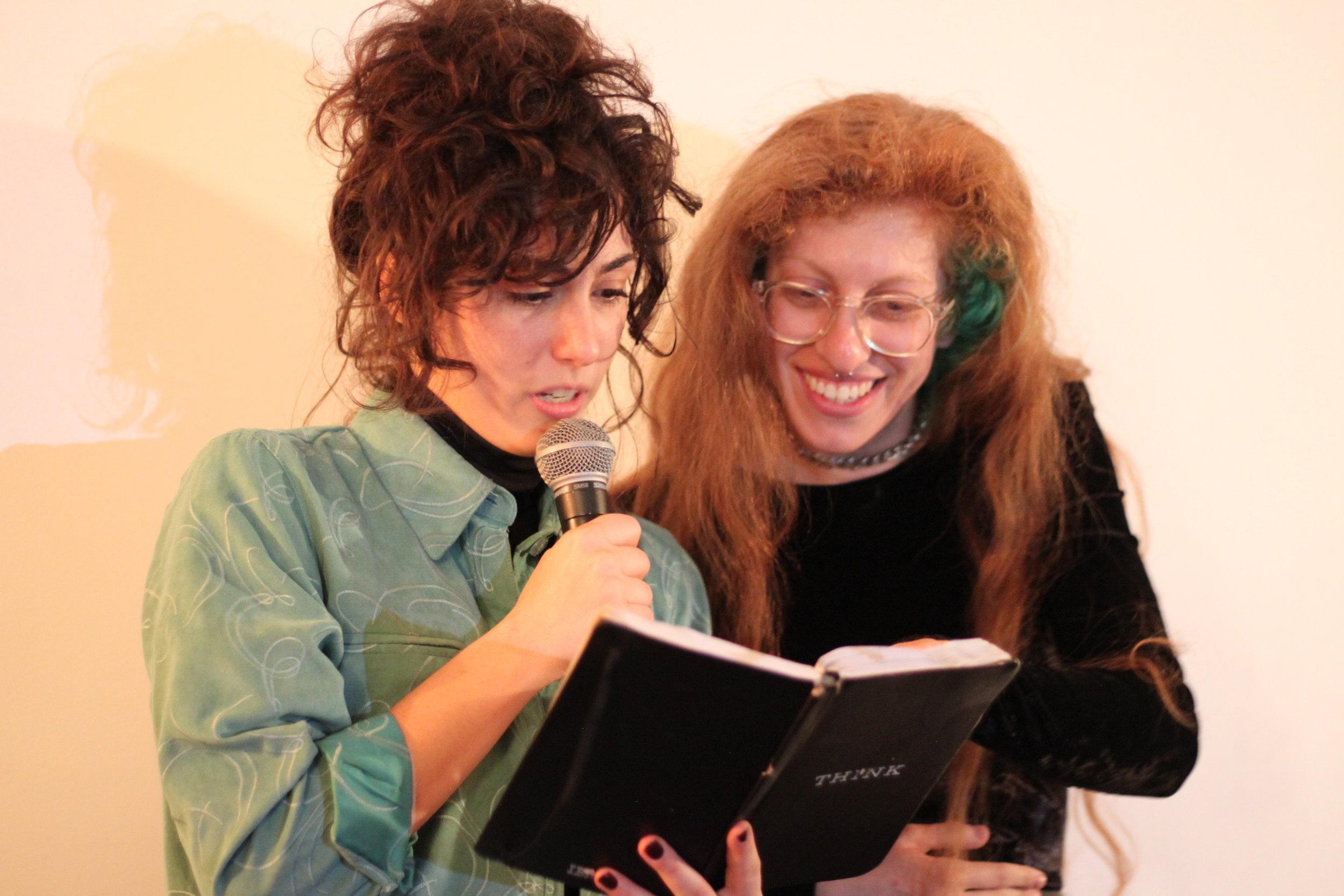 Amy Zimmer & Lena Einbinder