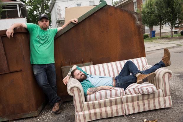 Bryan Quinby (L) and Brett Payne (R) of Street Fight Radio