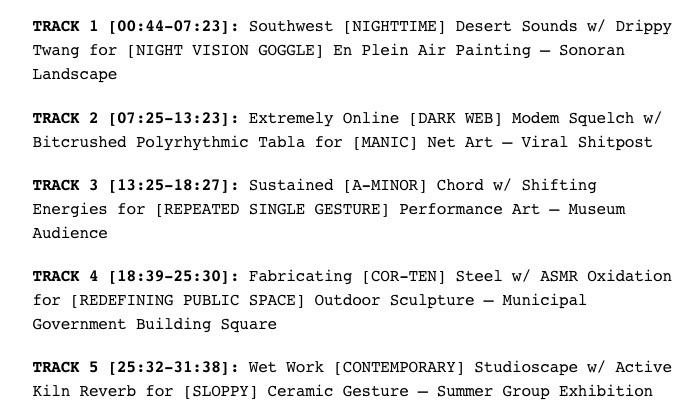 Guided Studio Soundscapes for Experimentation and New Media — Humor