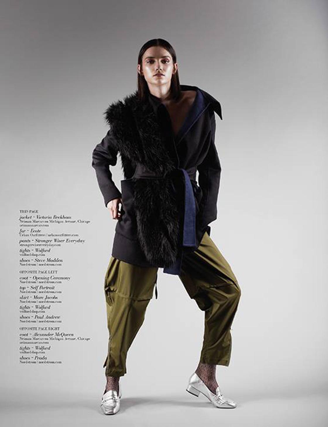 Cover & inside of Art + Design Magazine Winter 2017