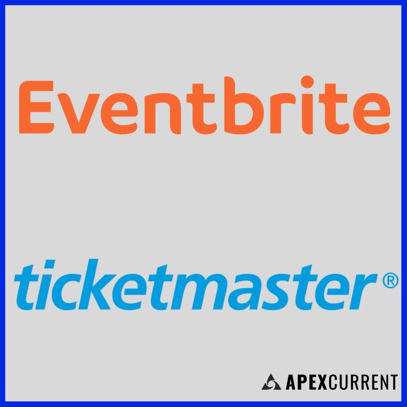 Eventbrite and Ticketmaster