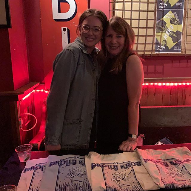 My merch girl, ride or die, love of my life, role model, bff, and mother- Stacy.  Sadly she won't be selling my shirts on the 24th but there will still be shirts. Hope to see ya there!