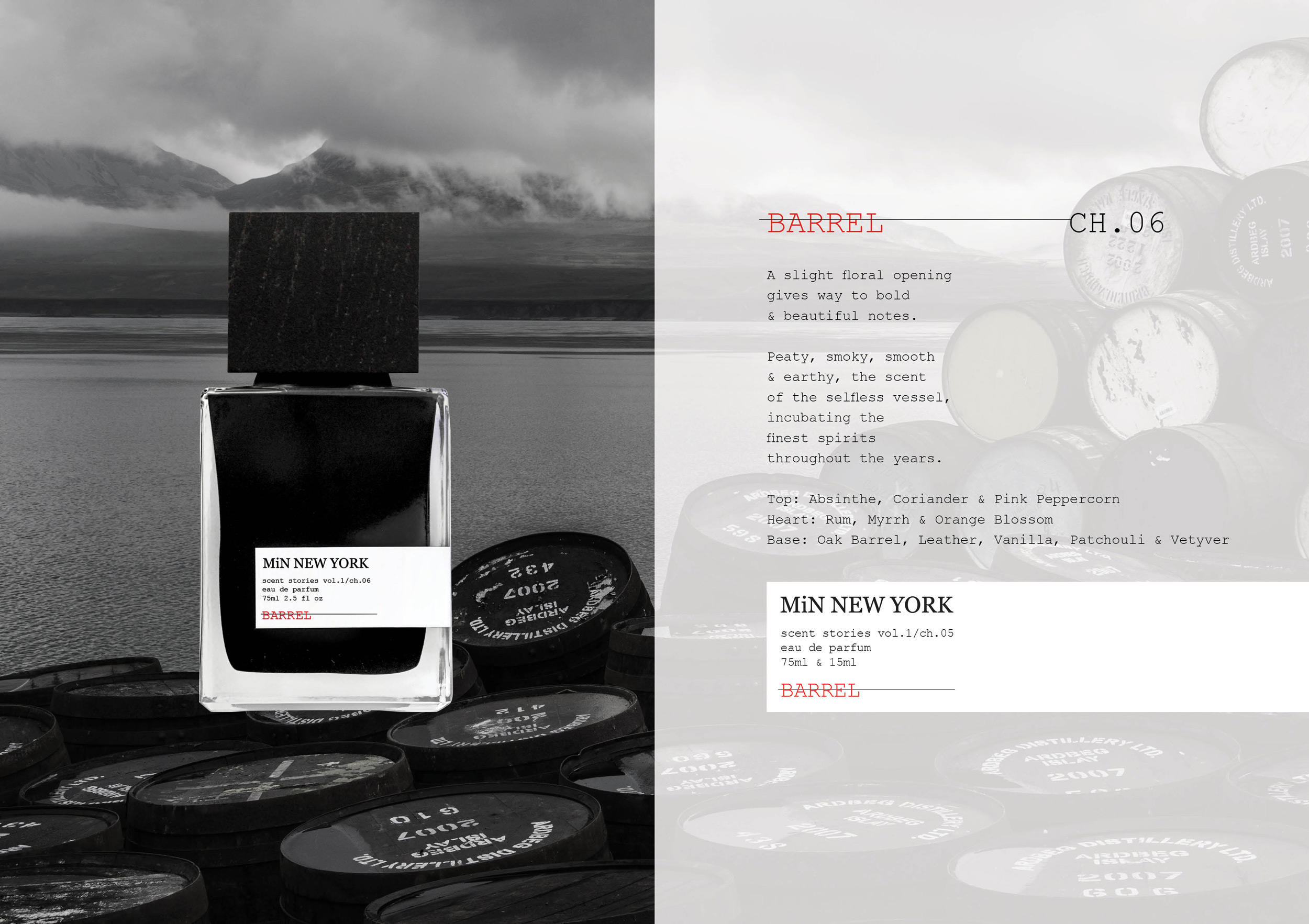 Chad Murawczyk MiN New York Scent Stories Barrel