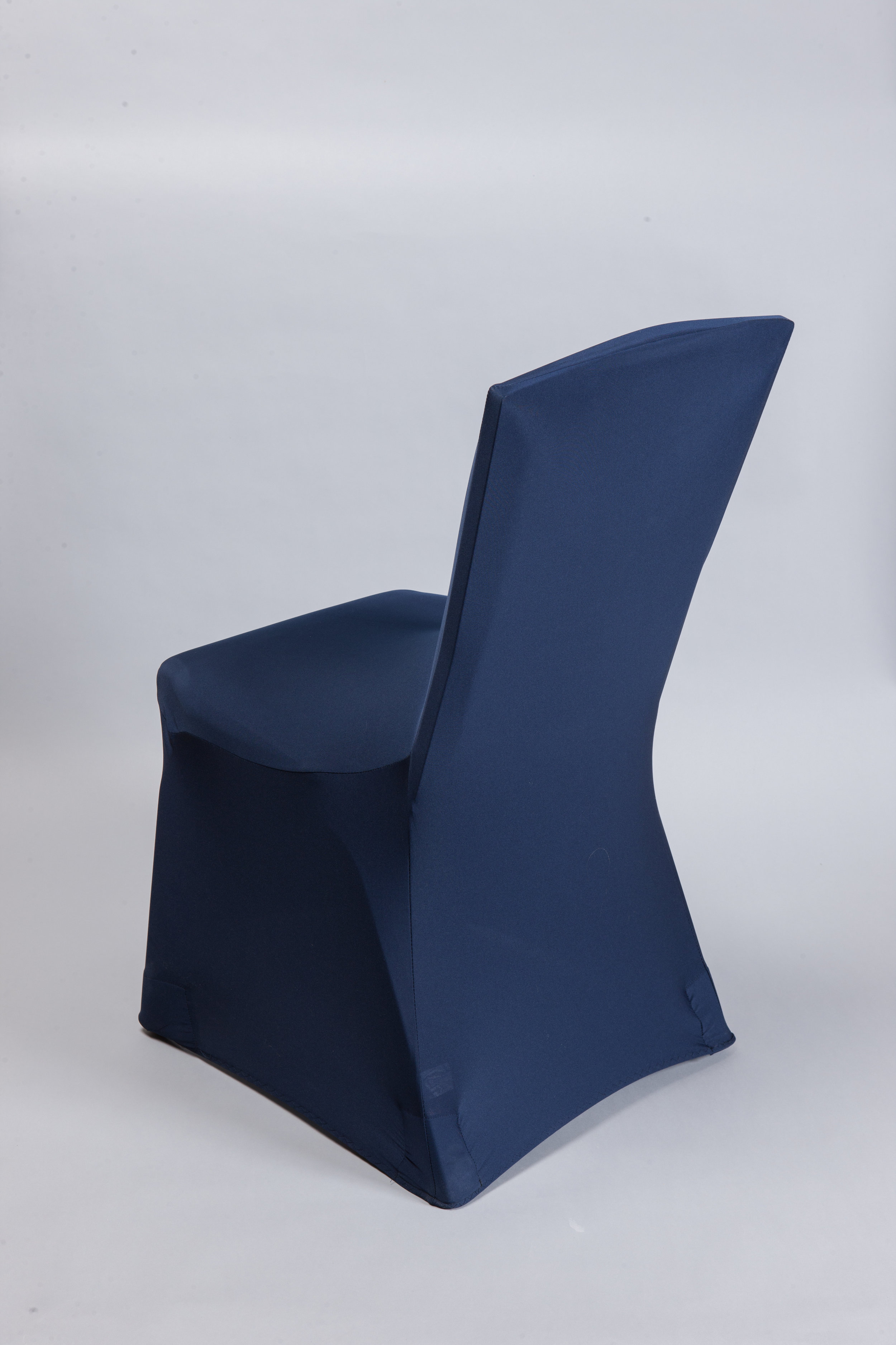 Navy Spandex Chair Cover