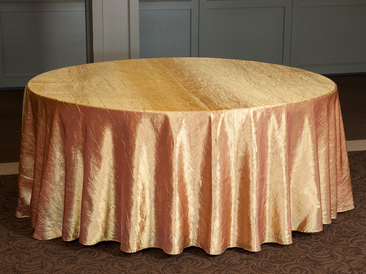Gold Crushed Taffeta