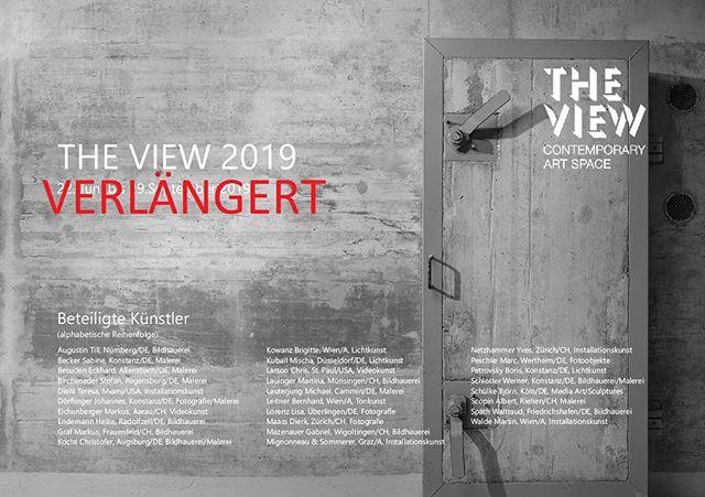 Wir verlängern unsere Ausstellung bis Ende Oktober !!! #exhibition #ausstellung #switzerland #contemporary #contemporaryart #theview2019 #thurgau #bodensee #kunst #kunstimbunker #Kunstausstellung #art #artexhibition
