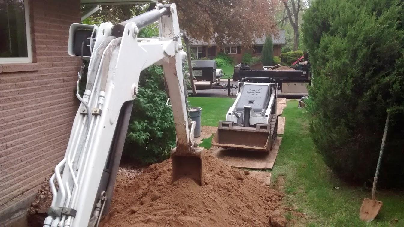 Excavating Window Wells