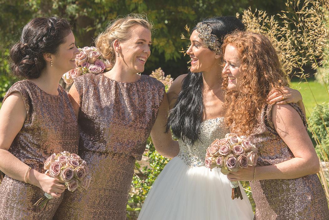 Gemma & her Bridesmaids