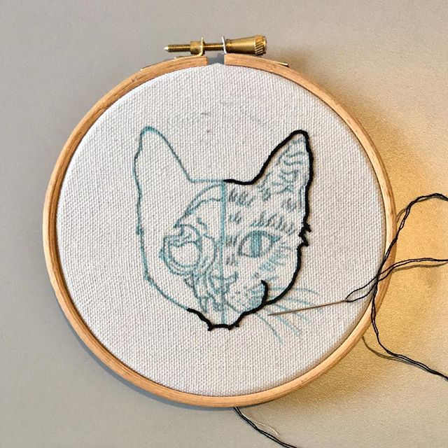 Sunday hobbies  Pattern by the awesome @afera_handmade  #embroidery #wip #handembroidery #hobbies #sunday