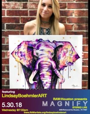 Lindsay Boehmler ART-RAW Houston presents MAGNIFY .jpeg
