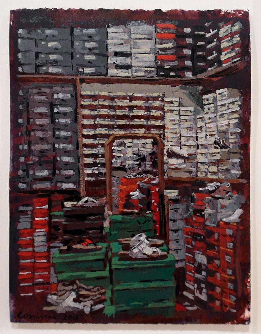 Magasin de chaussures / Shoe Store, 2015