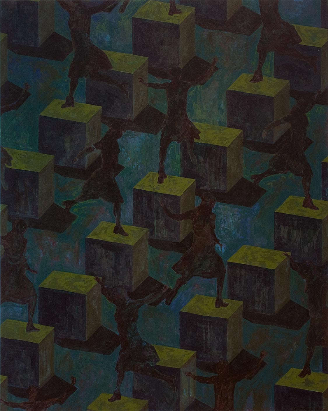 Figures sans ombre : sauts / Shadowless Figures : Jumps (2011)